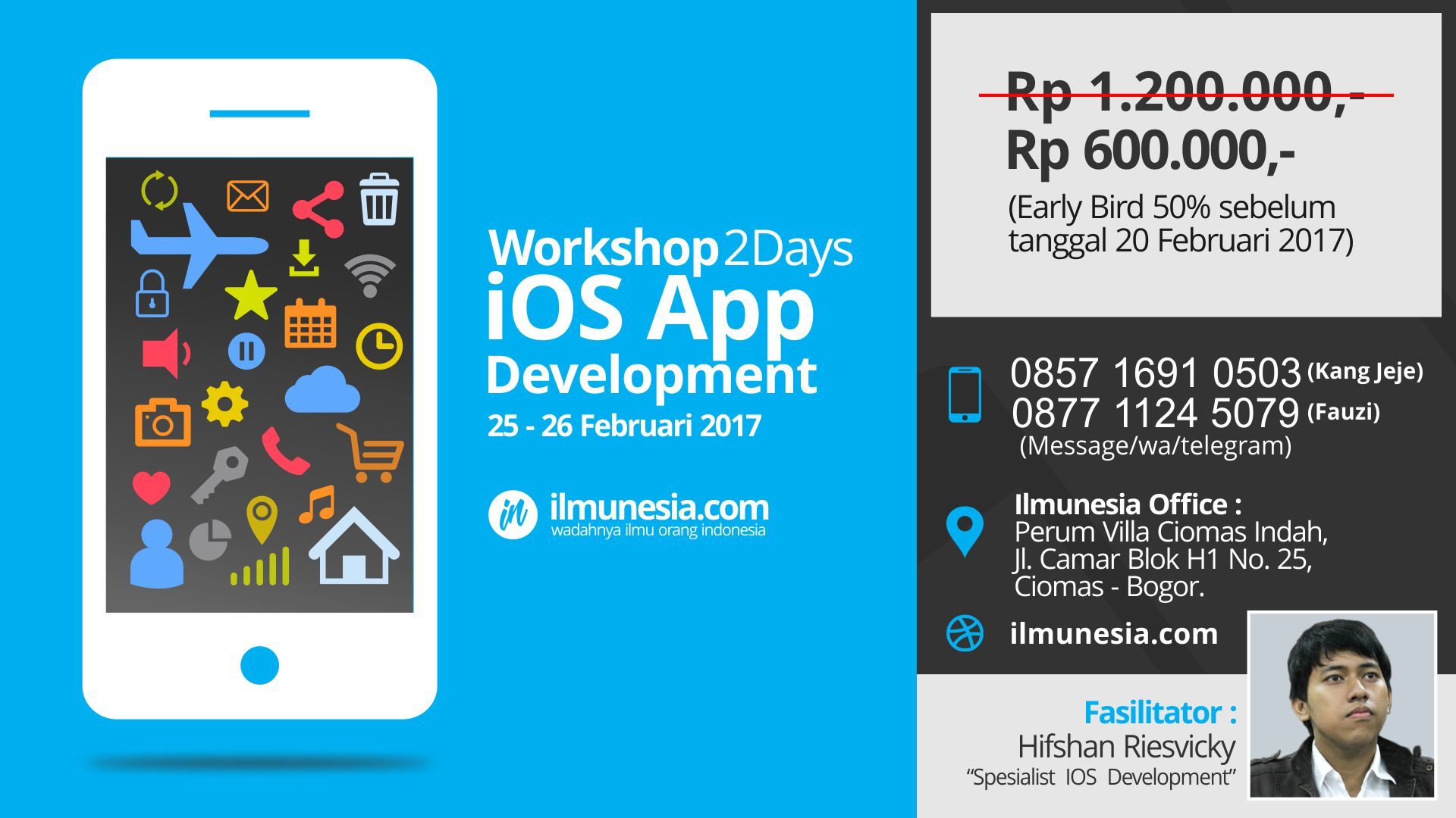 Workshop IOS App Development (Sebar) - ilmunesia